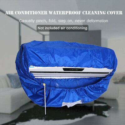 AU19.59 • Buy Air Conditioner Cover Bag Cleaning Protector Washing Household Waterproof Home