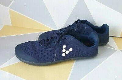 Vivobarefoot Outlast Stealth Mesh Low Top Lace-Up Trainers Shoe Size UK9,5 Blue • 73£