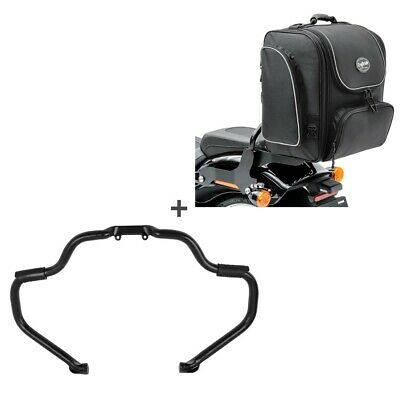 Set Crash Bar + Rear Bag Indian Chief/-tain/Springfield/Roadmaster 15-20 STM22 • 300.32£