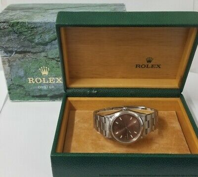 $ CDN2456.12 • Buy Desirable Copper Dial Air King Rolex Oyster Perpetual 14000 Mens Steel Watch