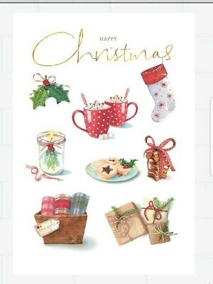 Hallmark Lucy Cromwell Christmas Card   Happy Christmas  • 2.49£