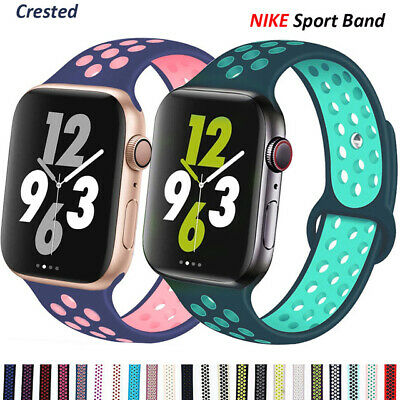 AU10.02 • Buy Silicone Nike Sport Strap For Apple Watch IWatch Band 38/40/42/44mm Series 54321