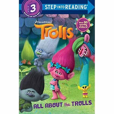 Trolls Deluxe Step Into Reading With Stickers (DreamWor - Paperback NEW Kristen • 5.52£