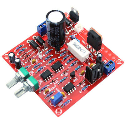 Red 0-30V 2mA-3A Continuously Adjustable DC Regulate Power Supply DIY Kit PCB;UK • 7.13£