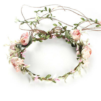 $9.66 • Buy Women Boho Flower Floral Hairband Headband Crown Party Bride Wedding Beacci