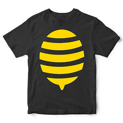 Kids Bee Costume T Shirt Funny Halloween Fancy Dress Outfit Gift Idea Him Her • 10.95£