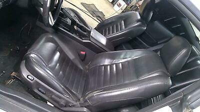 $1434.24 • Buy 05-07 Ford Mustang Leather Seat Set (Front/Rear) Black Leather OEM