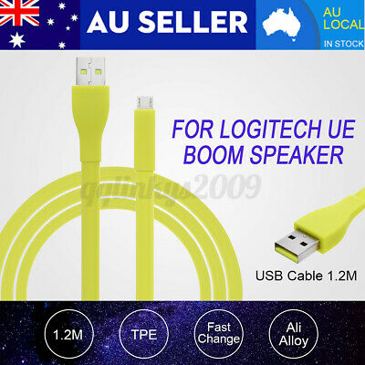 AU15.98 • Buy For Logitech UE BOOM MEGA Bluetooth Speaker PC/DC Charger Micro USB Data Cable