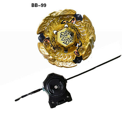 £6.54 • Buy Fusion Masters Metal Beyblade Hell Kerbecs BB99 With Launcher Starter Set