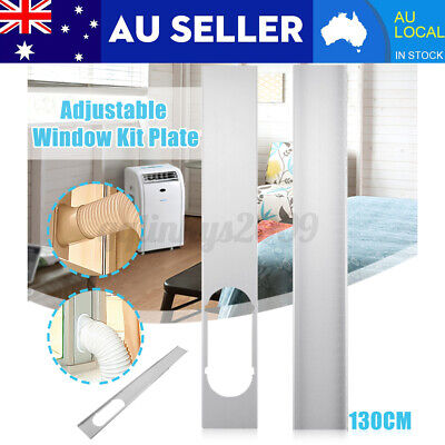 AU17.82 • Buy 2X Window Slide Kit Plate / 15CM Window Adaptor For Portable Air Conditioner