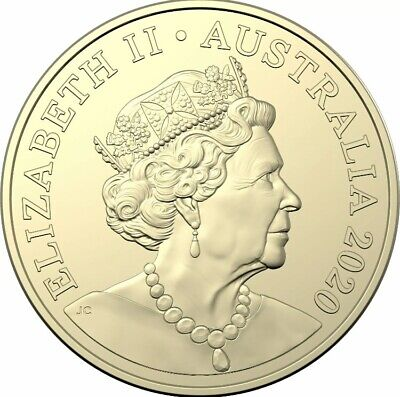 AU6.49 • Buy 1 X Australian  2020  $2 Two Dollar Coin  JC  Jody Clark New Effigy  UNC