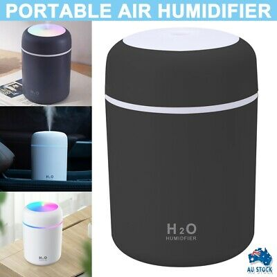 AU10.99 • Buy 300ML Electric Air Diffuser Aroma Oil Humidifier Night Light Up Difuser Home