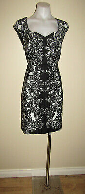 AU5 • Buy Review Designer Size 12 Cocktail Evening Dinner Party Work Office Dress