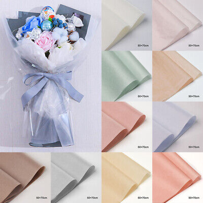 40 Pcs/Bag Flower Bouquet Wrapping Paper Gift Box Waterproof Packing PaperUK • 7.35£