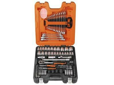 £127.50 • Buy Bahco BAHS877 S87+7 Socket Set 94-Piece 1/4in And 1/2in Drive