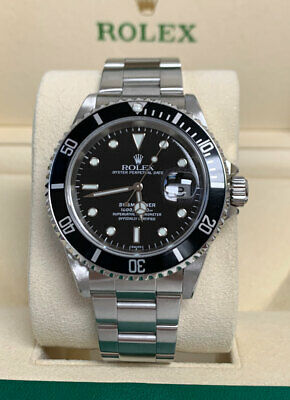 $ CDN12494.40 • Buy Rolex Submariner Date 16610 A Serial Mint Complete + 1 Year Warranty