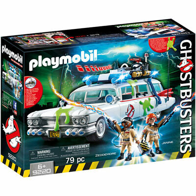 PLAYMOBIL Ghostbusters Ecto 1 With Lights And Sound - Ghostbusters 9220 • 42.99£