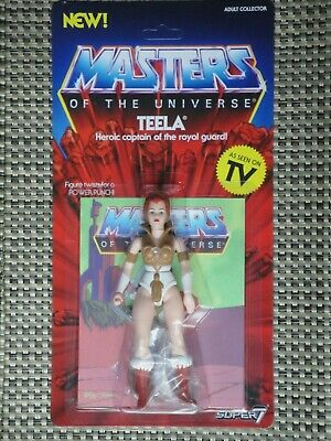 $25 • Buy Masters Of The Universe Teela Action Figure MOC Super 7 Vintage Series