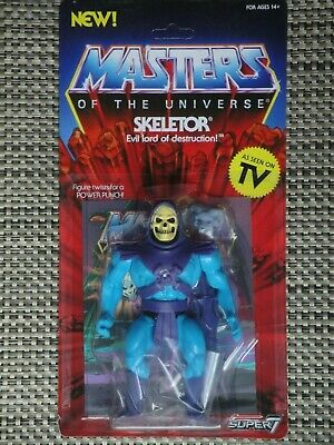 $30 • Buy Masters Of The Universe Skeletor Action Figure MOC Super 7 Vintage Series