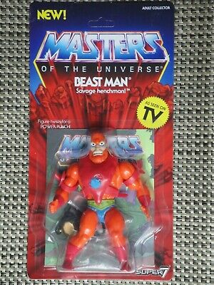 $38 • Buy Masters Of The Universe Beast Man Action Figure MOC Super 7 Vintage Series