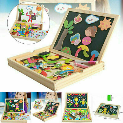 AU33.62 • Buy Magnetic Educational Toys Game For Girls Boys Toddler Kids 3/4/5 Years Old Board