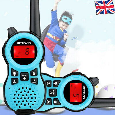 Children's Toys/Gifts Walkie Talkies Retevis RT638 8CH Radio For 4-12Years Kids • 16.99£