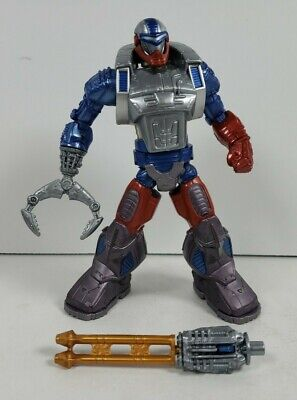 $44.99 • Buy 200X Roboto Complete Masters Of The Universe MOTU Action Figure 2002 Mattel
