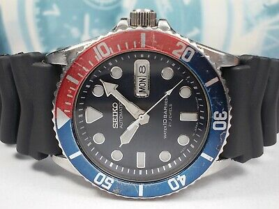 $ CDN28.83 • Buy Seiko Day/date 10bar Skx033 Submariner Mens Watch 7s26-0040 (sn 712862)