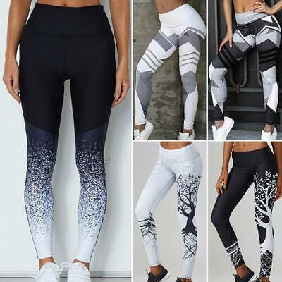 Push Up Yoga Pants Ladies High Waist Running Gym Leggings Workout Sports Fitness • 11.99£