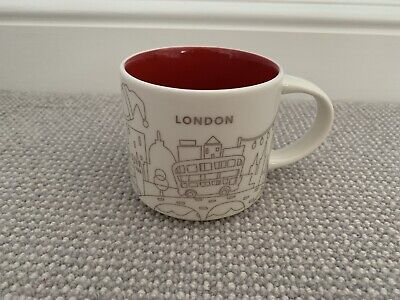 Starbucks You Are Here Christmas - London 2 Rare Perfect Condition Label • 19.99£
