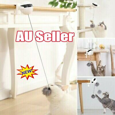 AU15.96 • Buy Electric Automatic Lifting Cat Ball Toys Interactive Puzzle Smart Pet Cat Balls~
