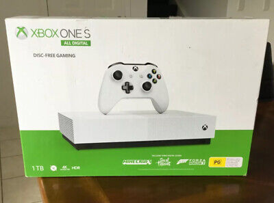 AU117.50 • Buy Xbox One S All-Digital Edition 1TB Console - White