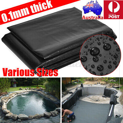 UK 9 Size Fish Pond Liner Outdoor Durable HDPE Guarantee Pool Heavy Duty Garden  • 10.32£
