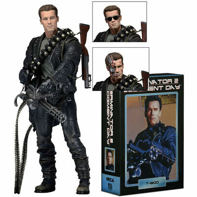 NECA Terminator 2 Judgment Day T-800 Ultimate Arnold 7  PVC Action Figure Model • 28.99£