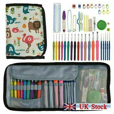 Knit Pro Waves Soft Grip Easy Hold Crochet Hook - Sets & All Size Tools UK • 13.98£