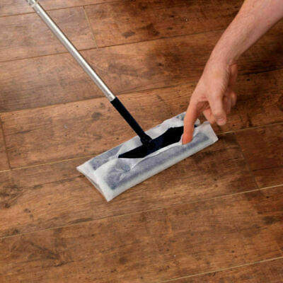 SupaHome Electrostatic Floor Cleaning Mop, Cleaner, Duster With 10 Free Wipes • 8.50£