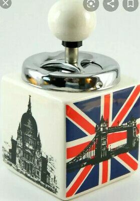 England Flag Ashtray  Red  , White And Blue  • 6.99£