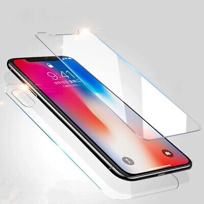 Front Side & Back Side Tempered Glass Guard Screen Protector For Apple IPhone XR • 2.85£