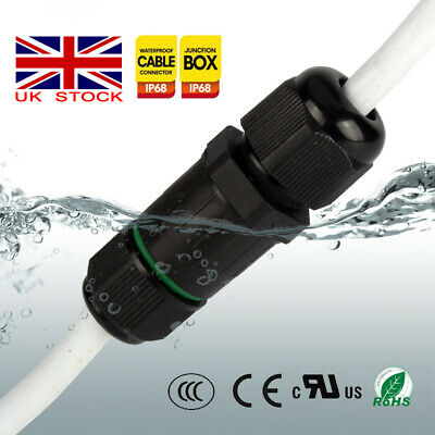 £4.36 • Buy Waterproof Junction Box Case/Electrical Cable Wire Connector Outdoor 240V Mains