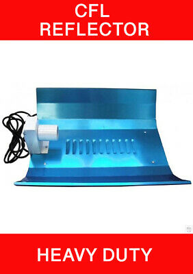 £23.95 • Buy CFL Reflector Shade Heavy Duty Hydroponic Grow Light For Tent Room