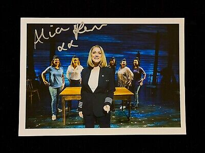 Alice Fearn SIGNED 5x7 Photo. COME FROM AWAY London Musical, Wicked, West End • 12£