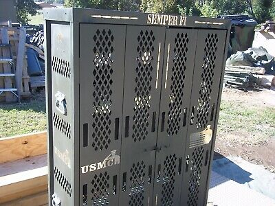 $575 • Buy Military Surplus Secure Site  Weapons  Rifle Pistol Rack Cabinet  Safe Gun Army
