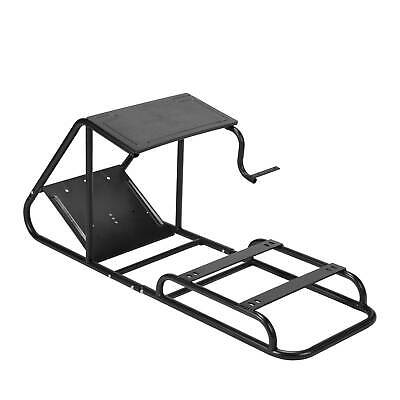 Racing Cockpit Simulator Wheel Stand Pedals And Real Racing Seat Without Wheels • 79.99£