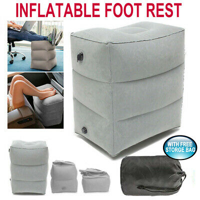 AU8.99 • Buy AU Inflatable Foot Rest Travel Air Pillow Cushion Office Home Leg Footrest Relax