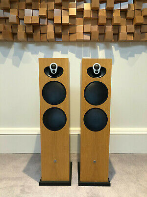 Linn Majik 140 Passive Loudspeakers - Oak - Good Condition - Collection Only • 870£