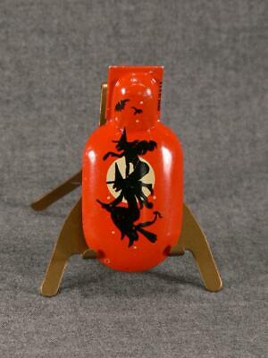$ CDN25.36 • Buy Vintage Halloween Litho Tin Clacker Clicker Witch Noisemaker T Cohn Made In Usa