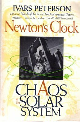 Newtons Clock: Chaos In The Solar System, Peterson, Ivars, Used; Good Book • 3.28£
