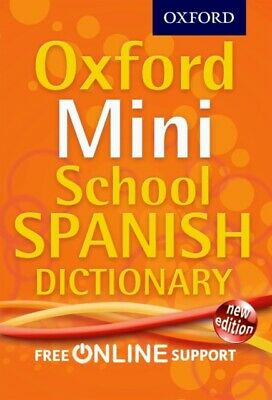 Oxford Mini School Spanish Dictionary • 5.99£