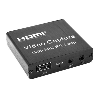 Mini USB 2.0 HDMI Capture Card Video Record Box For Game DVD Live Streaming • 14.83£