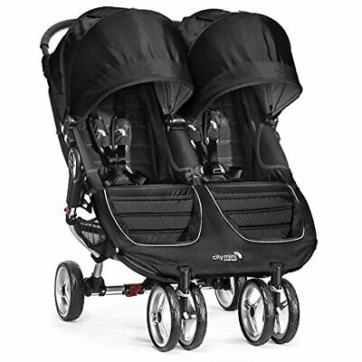 Baby Jogger City Mini Stroller - Double, Black • 508.51£